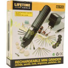 Mini-Meuleuse-Sans-Fil-3-6v-Pour-Polir-Graver-Couper-Poncer-60-Accessoires