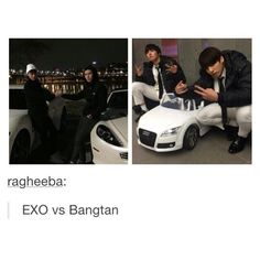 I didn't even look at the difference in car size!!! I just saw Jung hoseok's face!!!!