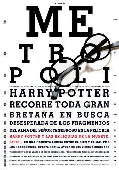 Harry Potter y Las Reliquias de la Muerte, Parte 1. Newspaper Cover, Harry Potter, Editorial Design, Magazine Covers, Reading, 21st Century, Magazines, Books, Nice