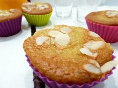 Gâteaux moelleux légers à l'orange et aux amandes - Vegan