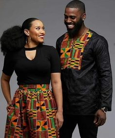 ankara mode Couples showcase their romantic relationship with beautiful and colourful Ankara outfits., you'll see how lovely couples look in Matching Ankara Outfits. Couples African Outfits, African Clothing For Men, African Men Fashion, Couple Outfits, African Attire, African Dress, Ankara Fashion, African Wear For Ladies, Latest African Wear For Men