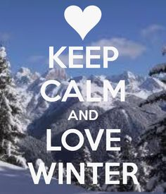 What I love about winter is the snow, sledding, snowball fights, and hot chocolate!