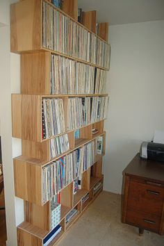 Furniture by Pete: Wall Unit/Record Case