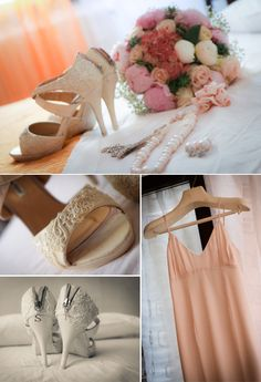 look sposa matrimonio estivo in spiaggia + scarpe decorate e personalizzate a mano