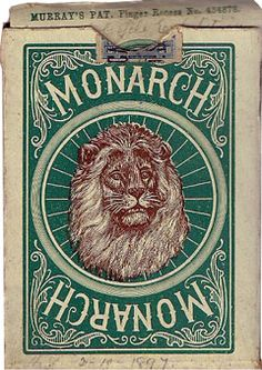 Monarch Bicycle - The World of Playing Cards