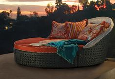 Modular Baleares Lounger - your personal oasis awaits. | Frontgate: Live Beautifully Outdoors