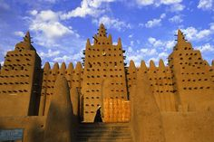 Timbuktu, a city in West Africa near the edge of the Niger River, still boast some of the magnificent buildings built by Emperor Mansa Musa.