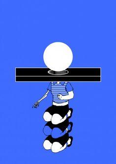 #Prisoner #affiche #poster #appellemoipapa #sergeantpaper #artprint #artstore #Sérigraphie 2 couleurs sur paper 260gr.  Edition limitée à 27 exemplaires 40x60cm | Numérotée et gaufrée