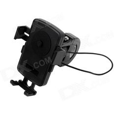 Suitable for 5.6~8cm wide cellphone and other digital devices, 1.6~2.6cm diameter handle bar; with http://j.mp/1q1wnuZ