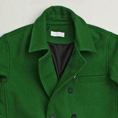 Soulland Duedam Green Peacoat