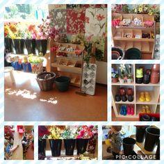 Themahoek lente/bloemenwinkel