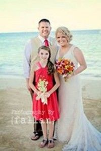 LOVE this picture from VIP Vacations Destination wedding bride Erica!!!  So happy for her!