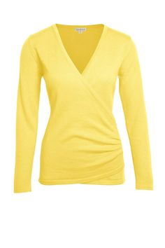 Sunshine Yellow Milan Knit Crossover