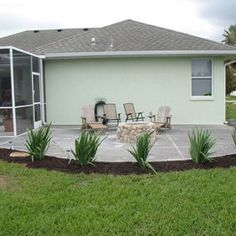 Outdoor Patio - traditional - patio - tampa - Cusano Construction Company Inc. Florida Lanai, Florida Home, Lanai Decorating, Florida Landscaping, Landscaping Ideas, Lanai Design, Front Porch Garden, Budget Patio, Outdoor Living