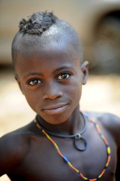 Himba boy - Angola (people, portrait, beautiful, photo, picture, amazing, photography, kid, child)