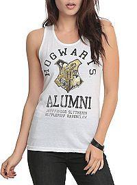 HOTTOPIC.COM - Harry Potter Hogwarts Alumni Girls Tank Top