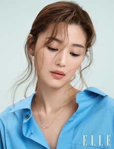Wow, Jeon Ji Hyun looks STUNNING in the October pages of Elle, check it out! Asian Actors, Korean Actresses, Jun Ji Hyun Makeup, Jun Ji Hyun Hair, Girl Face, Up Girl, Korean Beauty, Asian Beauty, Jun Ji Hyun Fashion