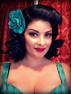 Pin up look