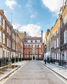 A side street in London's Westminster just around the corner from the Houses of Parliament. #london #westminster #house