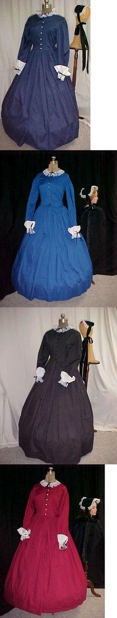 Civil War 125474: Civil War, Victorian, Dickens 4 Pc .Dress Set Costume, 4 Colors, Perm-Press -> BUY IT NOW ONLY: $149.95 on eBay!
