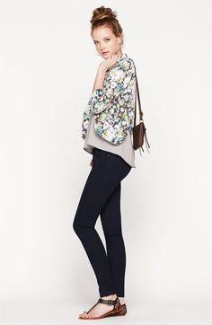 Lush Blazer & Vigoss Skinny Jeans | Nordstrom