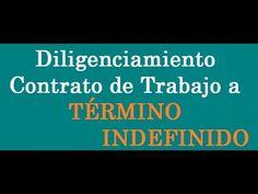 391. Diligenciamiento Contrato de Trabajo a Término Indefinido