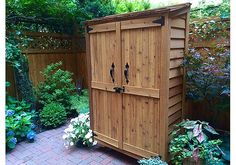Looking for small sheds? This outdoor addition makes a great small shed storage solution? Our 4x2 garden chalet offers both aesthetics & functionality!