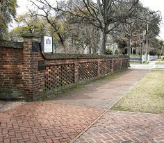 Brick Fence by Robert 345, via Flickr