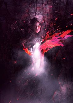 The Process of Creating the Ascending Spirit Digital Art in Photoshop