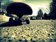 Skateboard by inkyfurreal, via Flickr