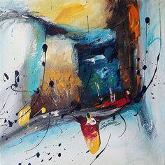 Soyut Resim / #Abstract #Painting by Barış Demir   #ressam #artist #contemporaryart #artwork
