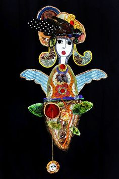 Isabelle Cellier, ISE, 2014, Finette, mixed textile media (Foto: Christophe Cellier)