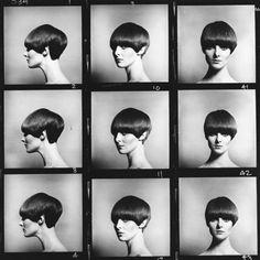 vidal sassoon five point cut   Swinging 60ies – Make-up, Frisuren und Mode der 60er