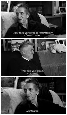David Lynch & Harry Dean Stanton