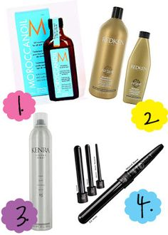{4 favorite hair products and tools!}