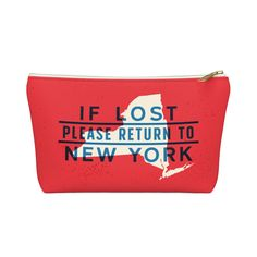 If Lost Return to New York Accessory Bag - Allegiant Goods Co.