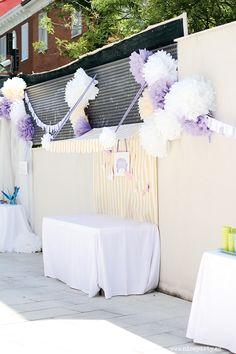 Nice Party comunión lila