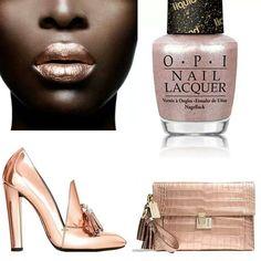 Rose Gold OPI sand