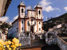 arte barroca no brasil - Pesquisa Google- Igreja São Francisco de Paula 1804-1904