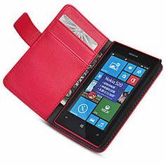 nokia lumia 521 phone cases | ... -Protective-Luxury-Leather-Wallet-Case-Stand-For-Nokia-Lumia-520-521