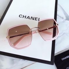 Dior Sunglasses, Stylish Sunglasses, Sunglasses Women, Sunnies, Chanel Brand, Chanel Chanel, Chanel Tote, Sunglasses For Your Face Shape, Chanel Glasses