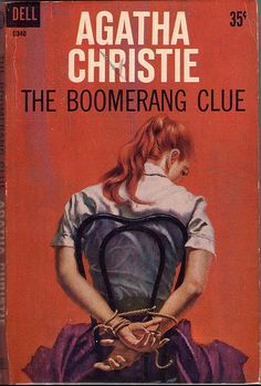 OMG I looove this cover, and I love this book!!! The Boomerang Clue by Agatha Christie