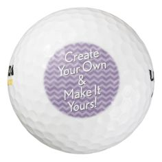 Custom Create Your Own and Make It Yours Pack Of Golf Balls