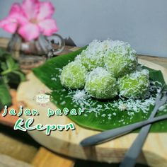 """Indonesian traditional cake """"klepon"""""""
