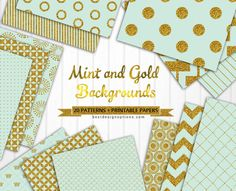 FREE 20 Free Mint Green and Gold Background Patterns : Best Design Options.- [ The download file is password-protected to prevent hotlinking. ]