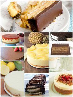 9 easy cakes without oven! http://www.pequerecetas.com/receta/9-tartas-faciles-sin-horno/