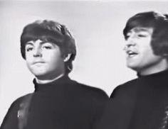 I spot a wild Ringo behind Paul and JOhn