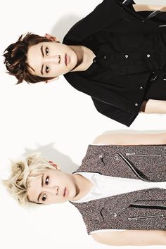 Chanyeol and sehun.. Both look absolutely amazing <3 my top two biases in EXO!! ♥