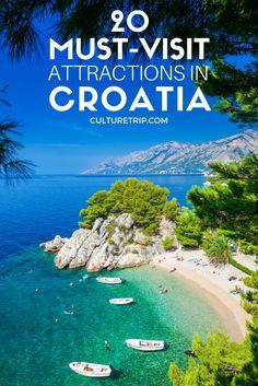 20 Must-Visit Attractions in Croatia Pinterest: @theculturetrip