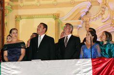 El Gobernador Moreno Valle encabezó la celebración del 205 Aniversario de la Independencia de México